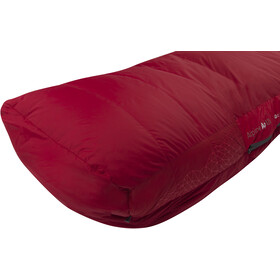 Sea to Summit Alpine AP III Sac de couchage Long, crimson/fiery red